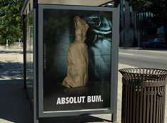 Print Advertisement Design for V&S Group Absolut