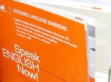 Booklet Design for International School of Languages inlingua