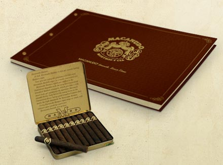 Presentation Booklet Design for World-Famous Cigar Brand Macanudo