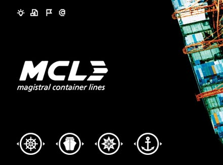 Branding & Identity Design for Logistics Company Magistral Container Lines