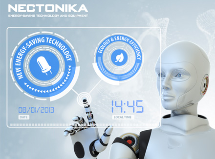 Website Design Retina Ready for Construction Company Nectonika