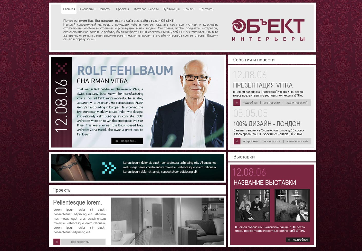 Corporate Website Design v.3