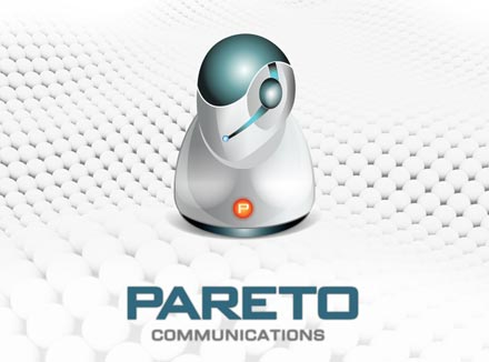 Logo Design & Business Docement Templates for Mobile Service Provider Pareto Communication